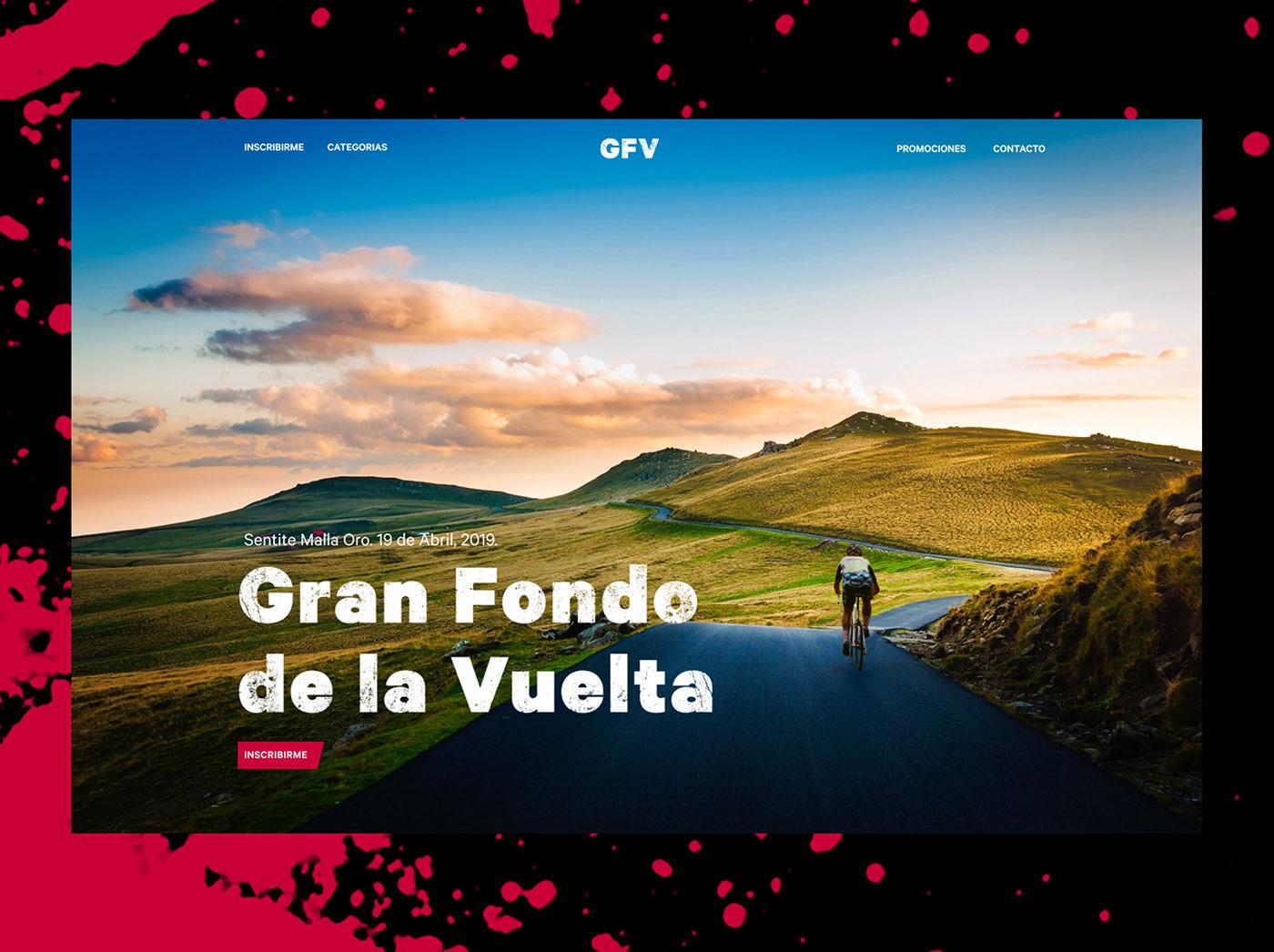 Web sport Bike muddy track