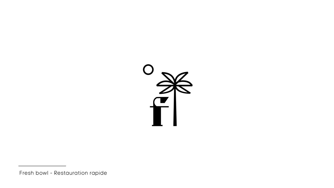 direction artistique identité ILLUSTRATION  logofolio logos