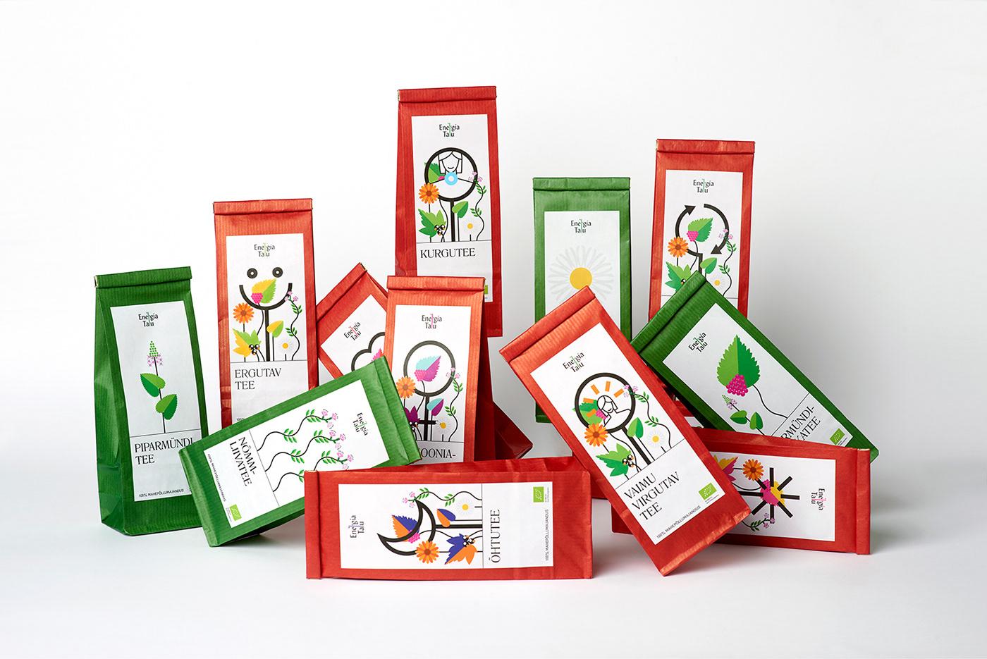 有獨特感的22款茶包裝欣賞