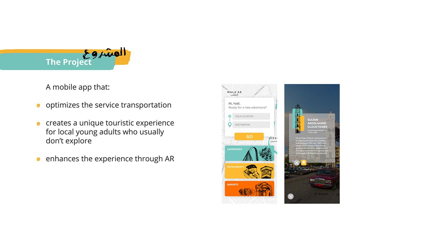 app design branding  identity ILLUSTRATION  lebanon taxi tourism transportation tripoli ux/ui