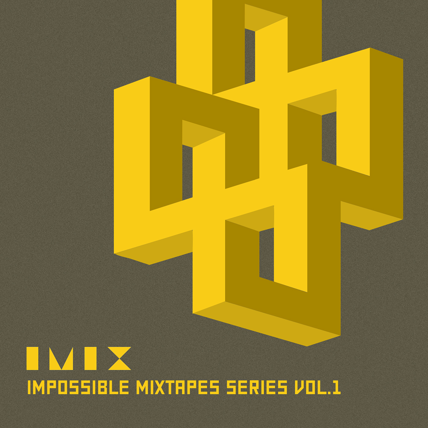 impossible mixtapes series cd cover art on behance