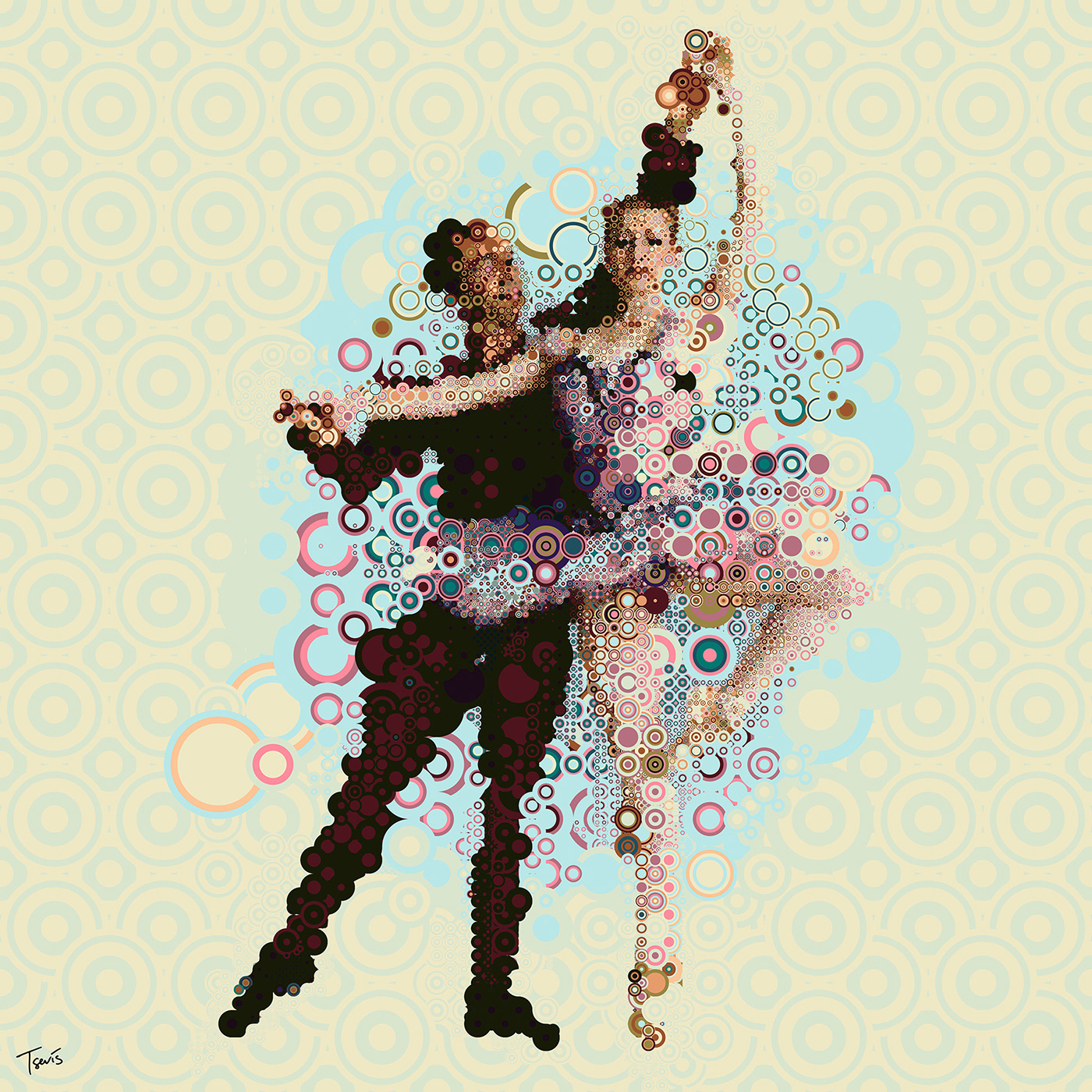 photomosaic,mosaic,arts,festival,culture,commission,romantic,ballet,music,computer graphics