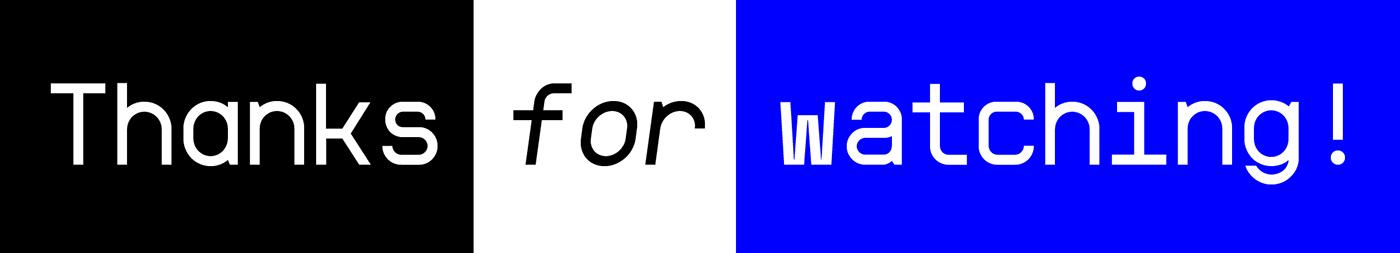 monospaced geometric Opentype font free Mono