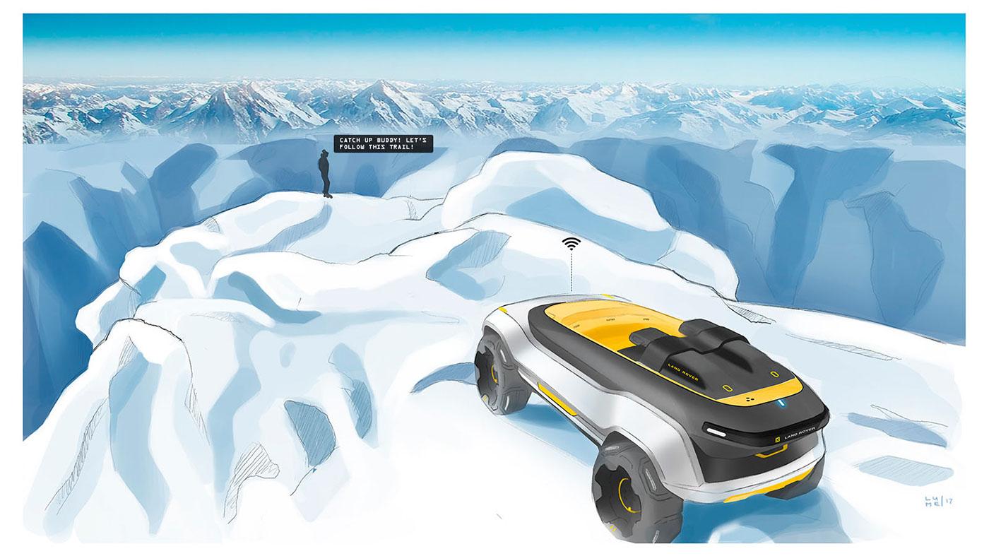 Land Rover Melrakki On Behance