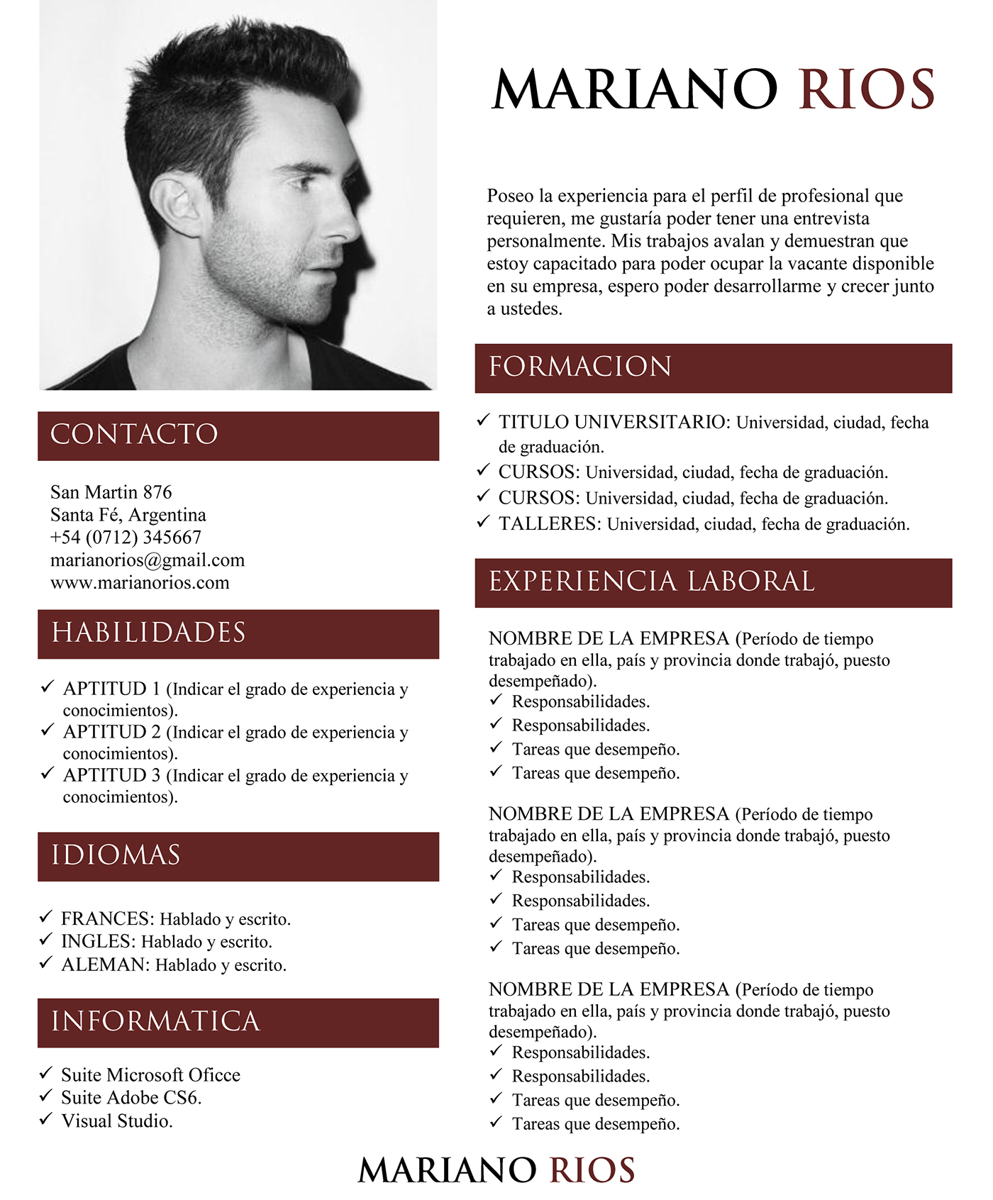 free word   docx  resume design on behance