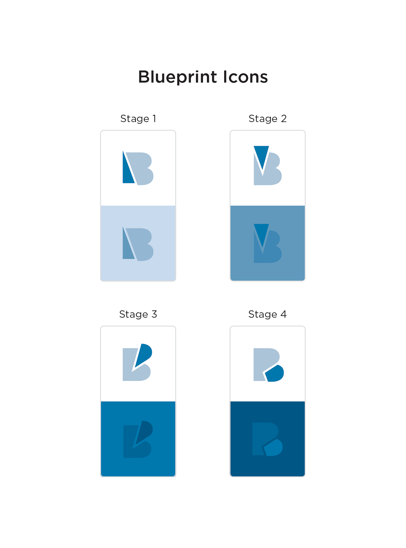 Brand blueprint logo design on behance project credits malvernweather Images