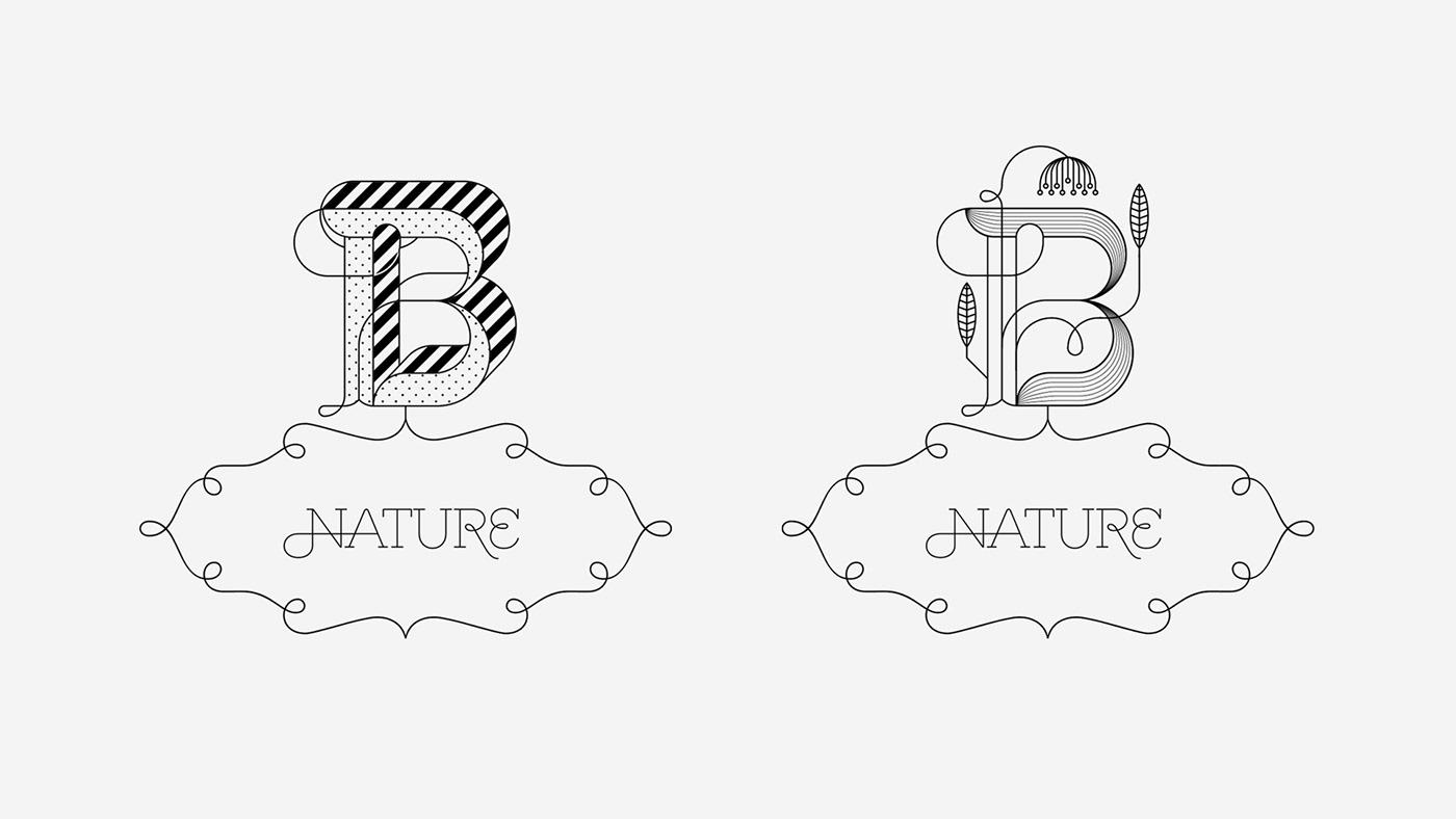 Amuki Rukuyaya dingbat typography   modulartype modular ILLUSTRATION  animation  experimental Nature
