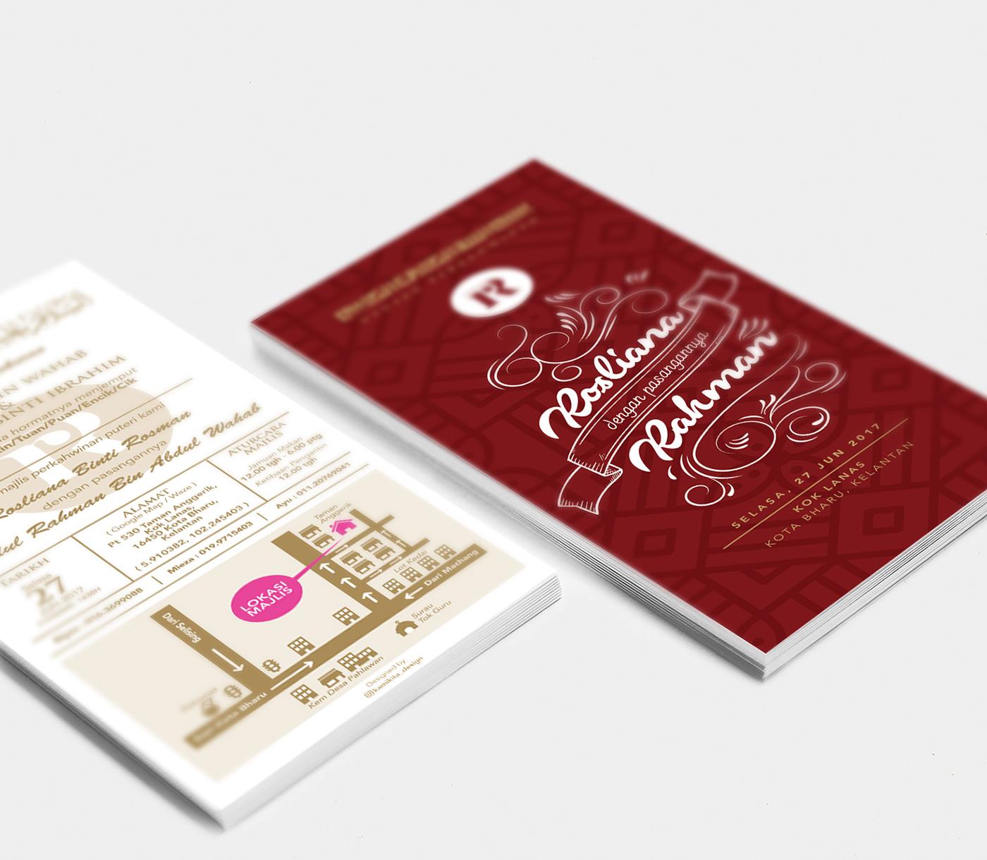 Wedding Invitations / Kad Kahwin (Custom) on Student Show