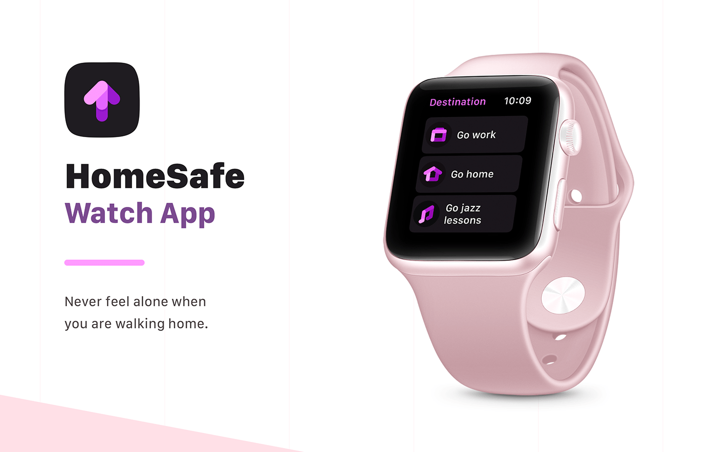 ideas product design  sketch Stay Safe UI/UX Design user experience watch