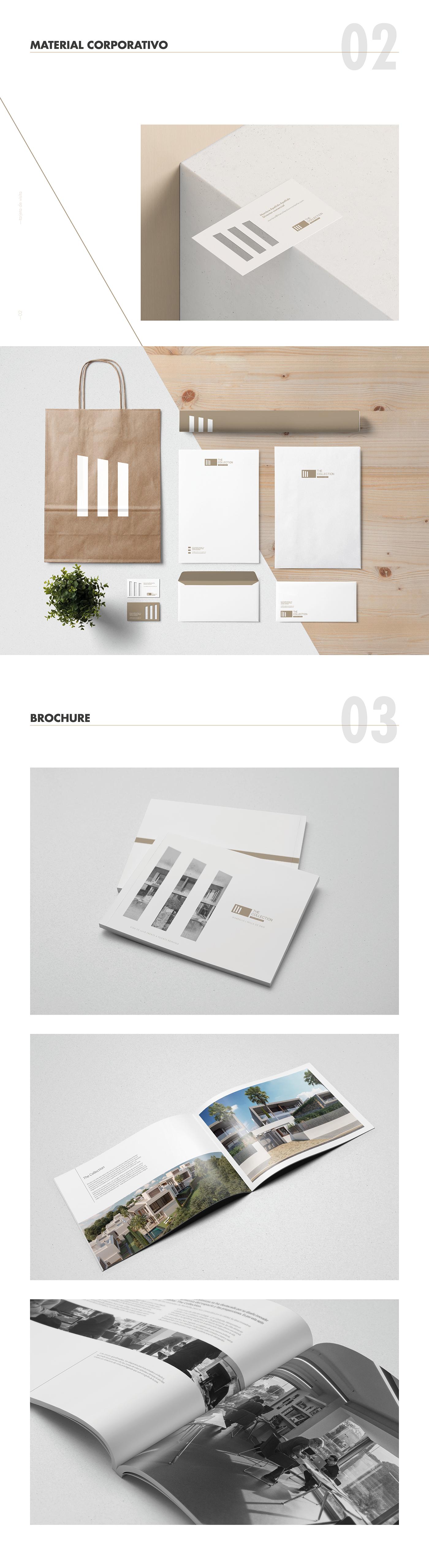 Web marcas graphic design  diseño gráfico costa del sol Desarrollo de marcas brochure real estate malaga architecture brochure