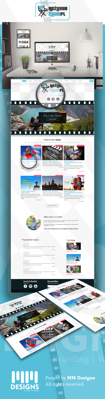Blog life brand Website logo wordpress