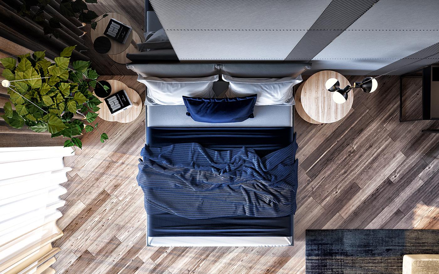 高質量的44款臥室設計欣賞