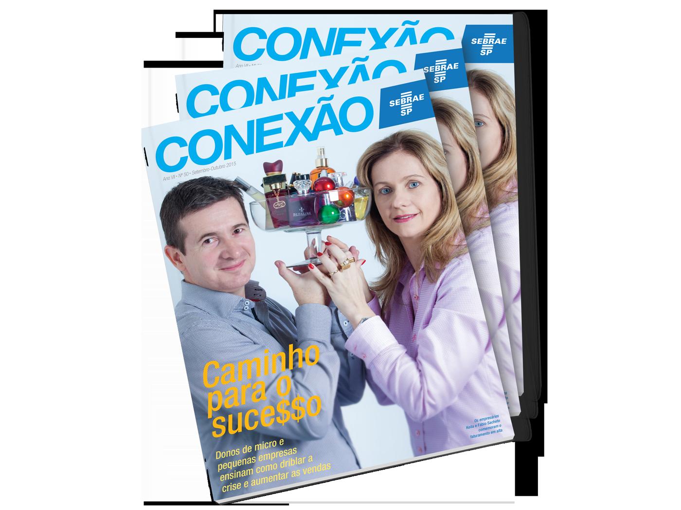revista magazine conexão sebrae sebrae sp