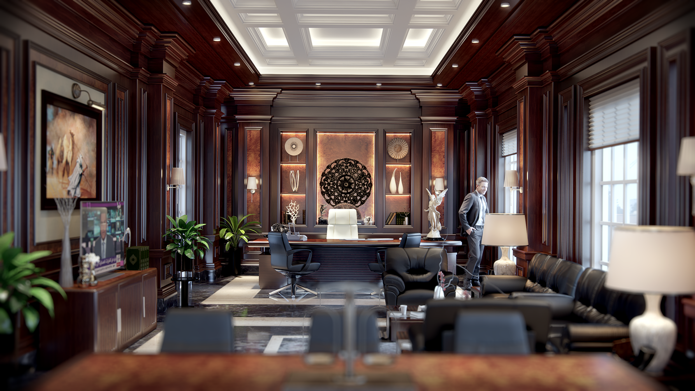 Luxury Office Interior Design On Behance