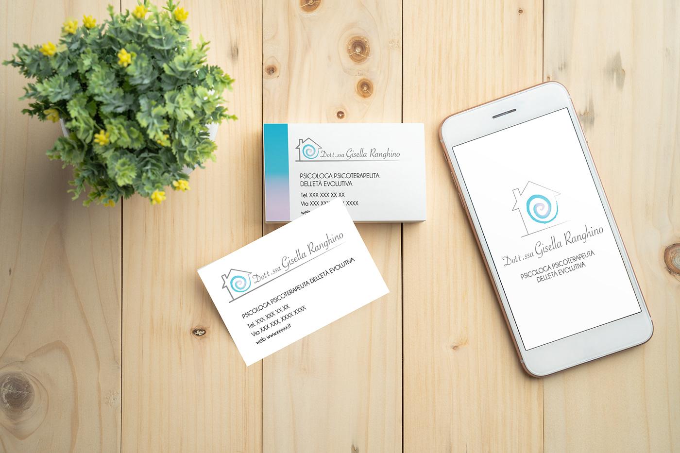 Logo Design graphic design  business card personal branding