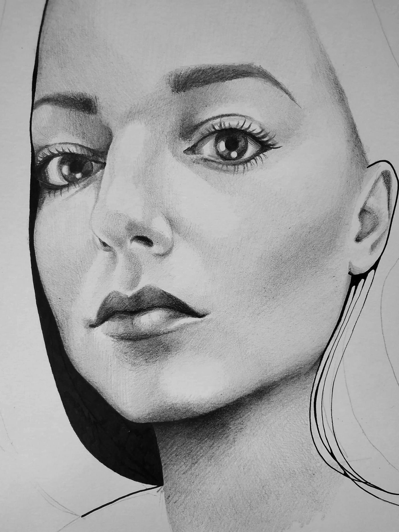 Image may contain: sketch, drawing and man