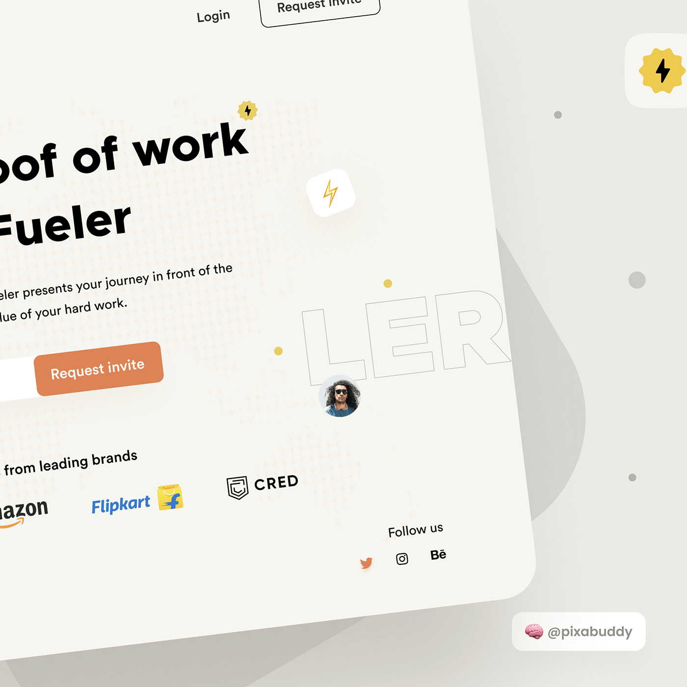creative design minimal Platform product design  social ui design UX design web app Web Design