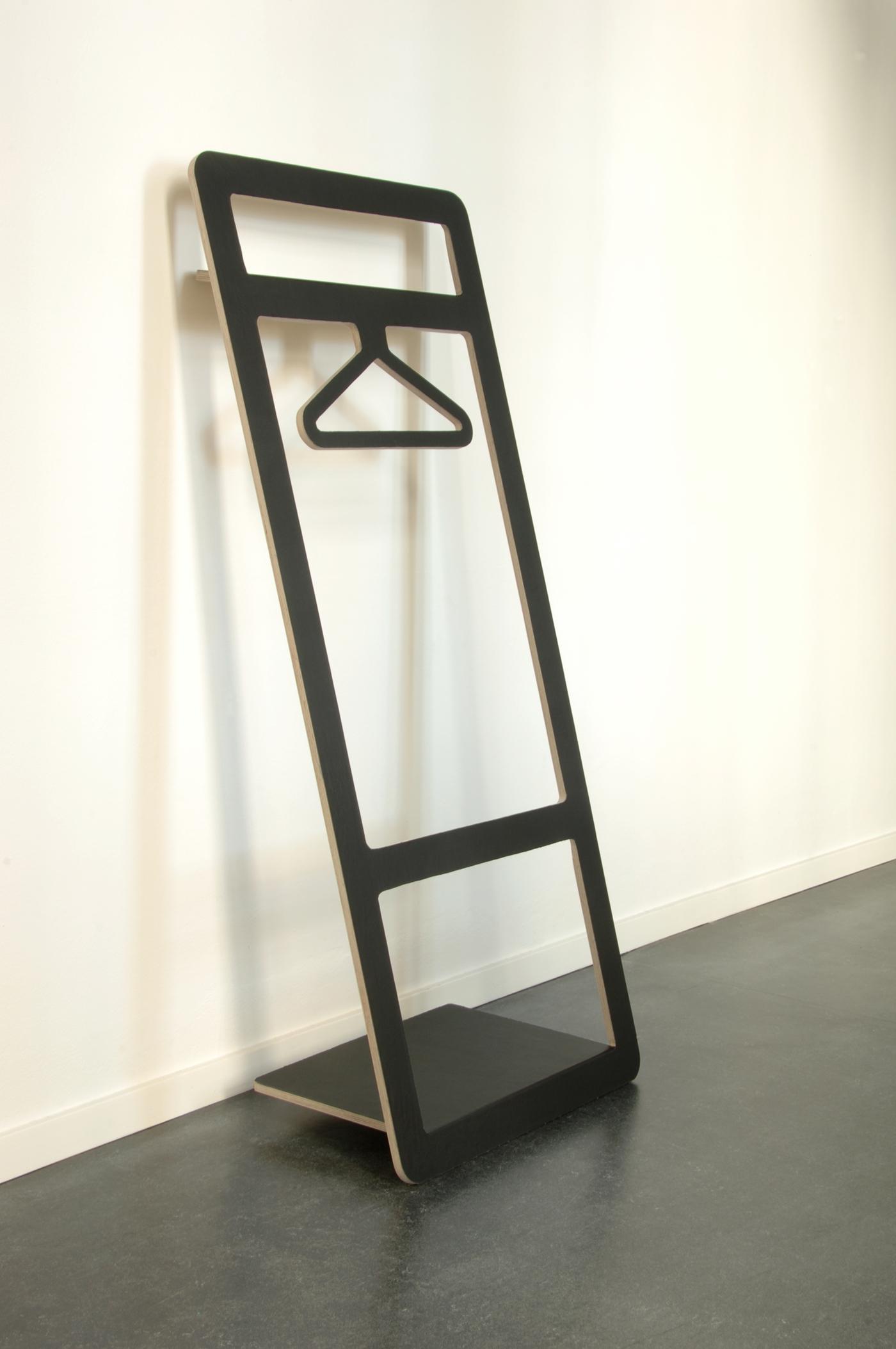 suitable valet stand on behance. Black Bedroom Furniture Sets. Home Design Ideas