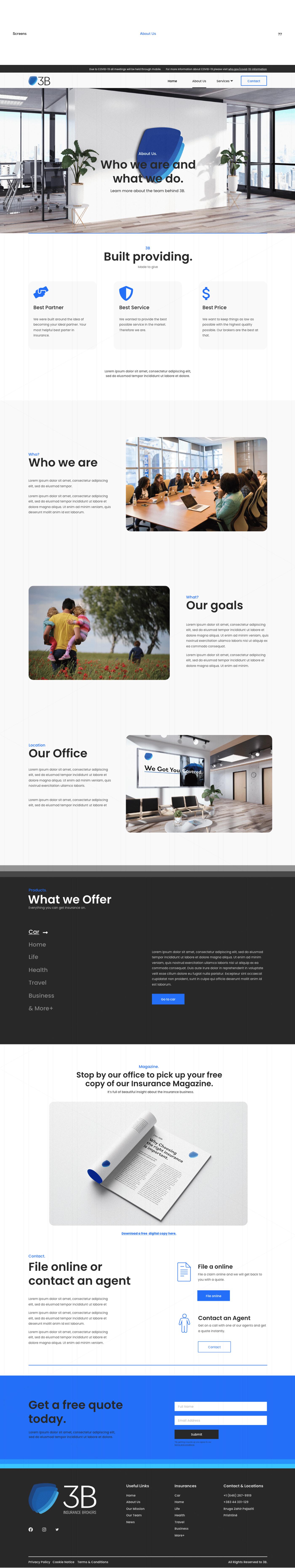Adobe XD design User Experience Design user interface Web Design  web development  Website