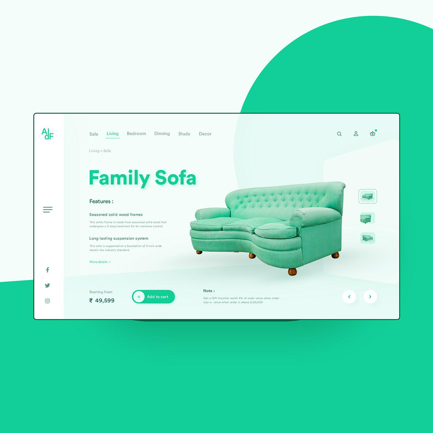 Clean Work designer designs Furniture UI logodesign ui design user interface UX design Web Design  Web UI