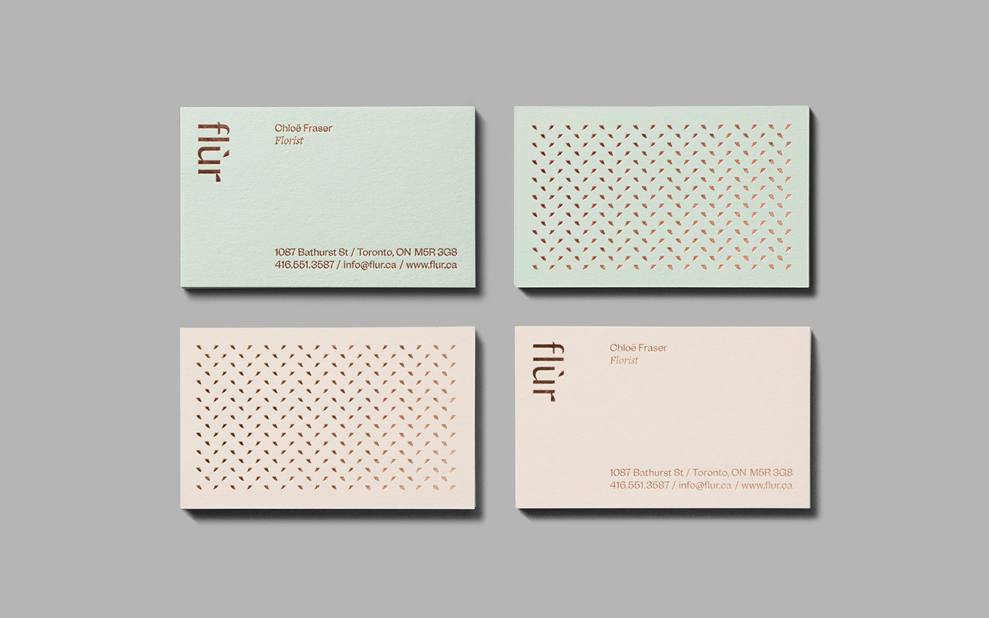 Flur Identity On Behance