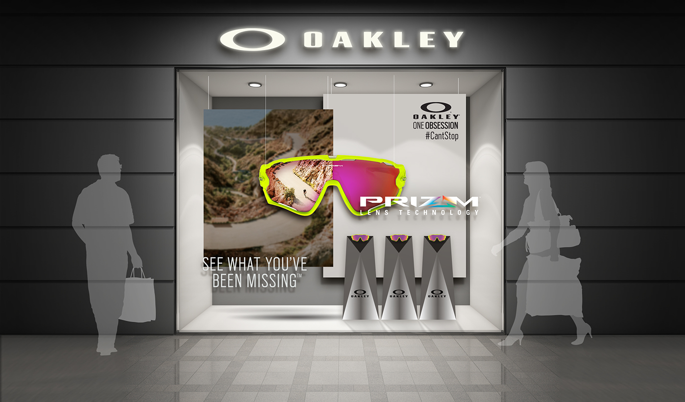 94e0e87407 ... norway window display campaign to promote the enhanced features of the  new prizm lens technology in