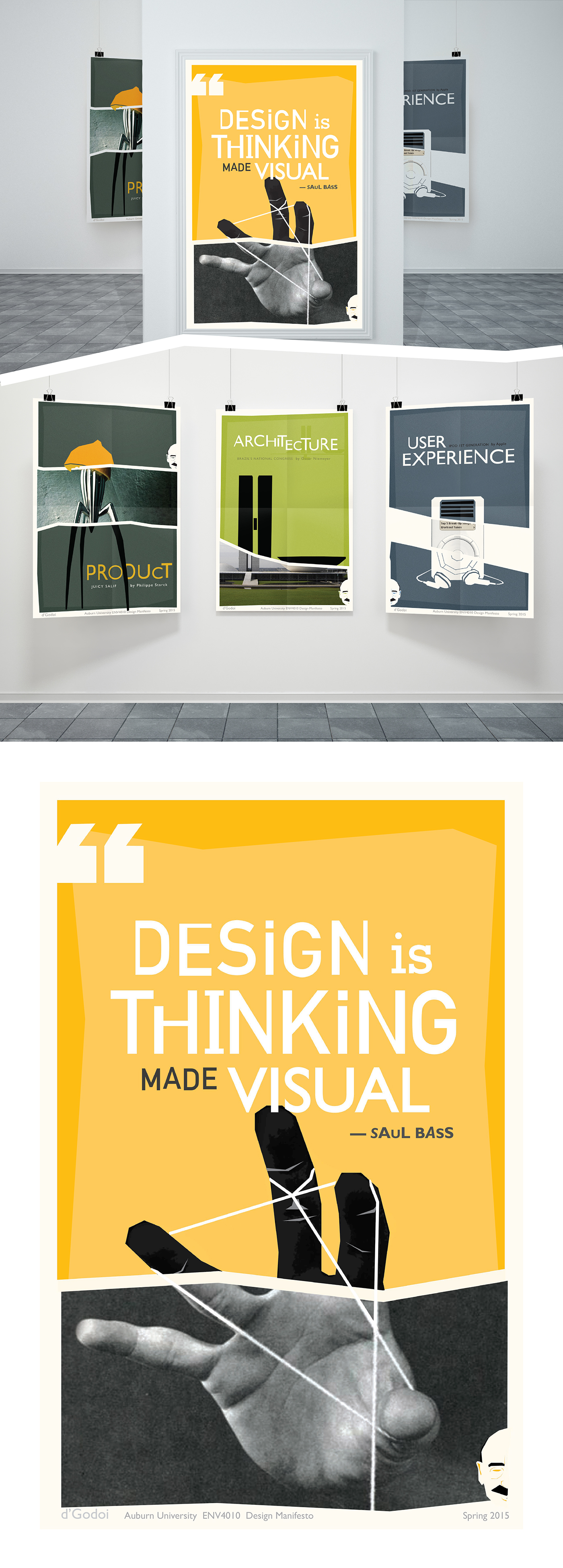 Definition of a poster design - Assignment Create Poster Based On A Quote Of An Artist Of Your Choice The Piece Must Have A Single Design Definition That You
