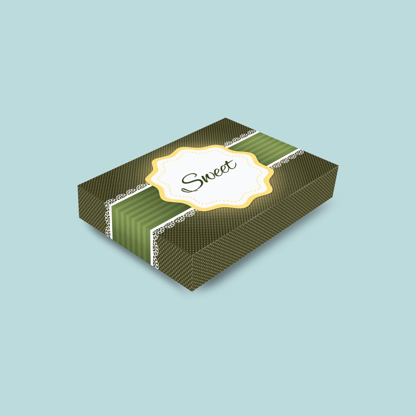 graphic design brand print Packaging sweet photoshop Illustrator
