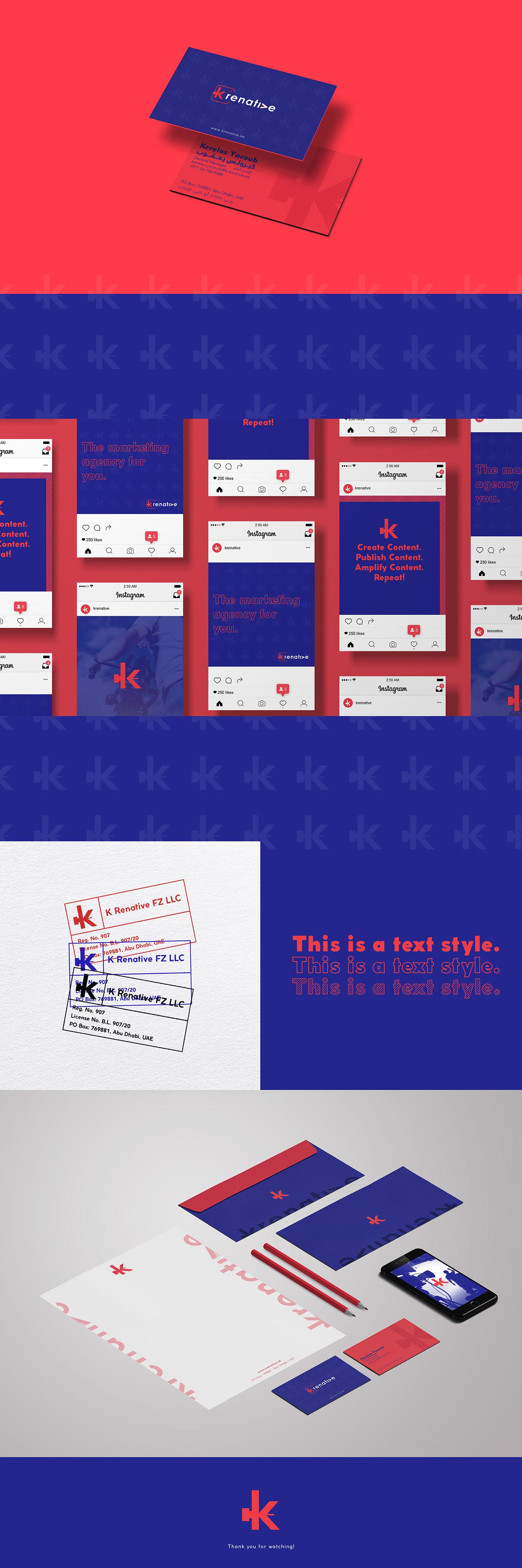 agency branding  contrast creative digital marketing natives photoshoot Pop colors videos