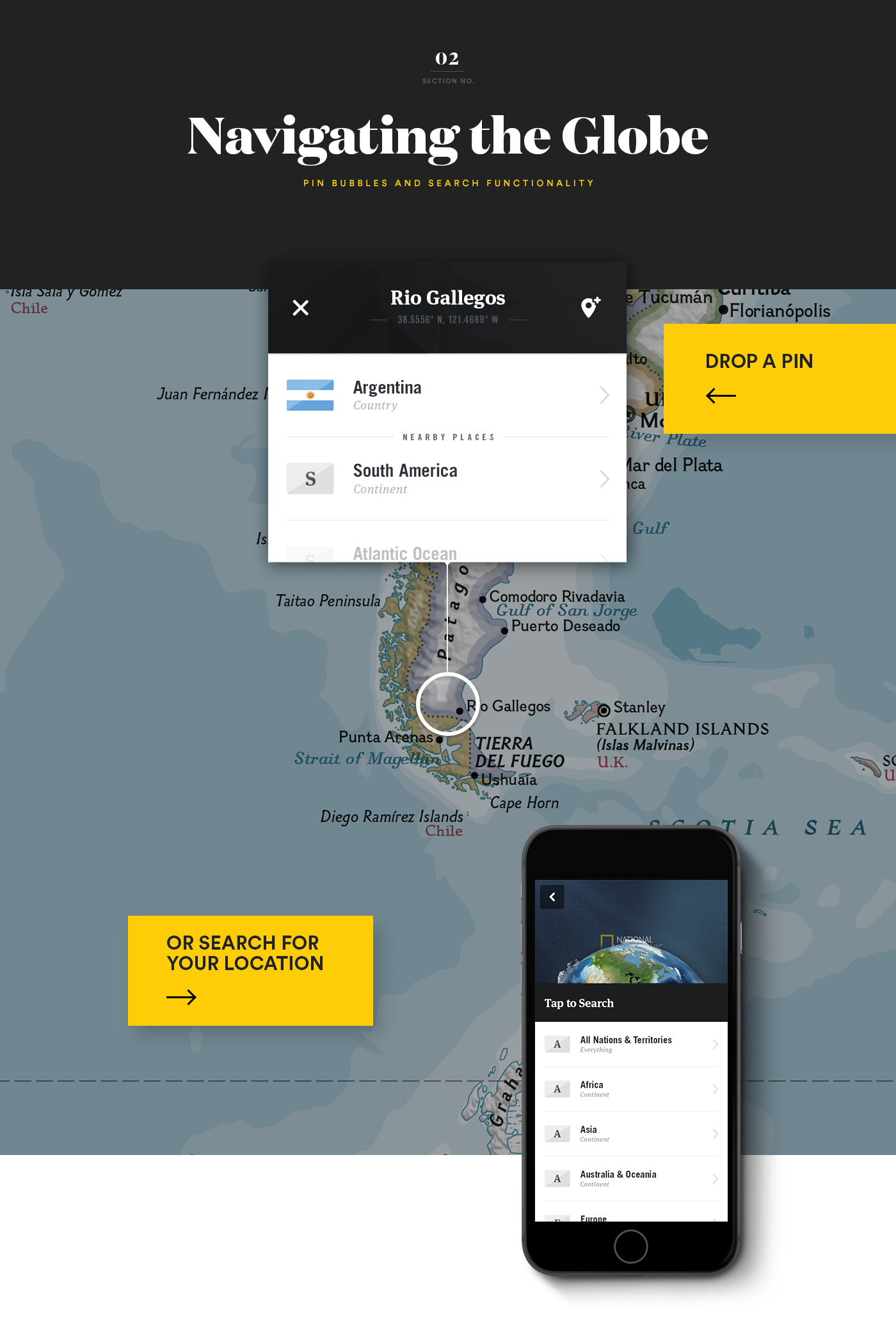 National Geographic World Atlas iOS App