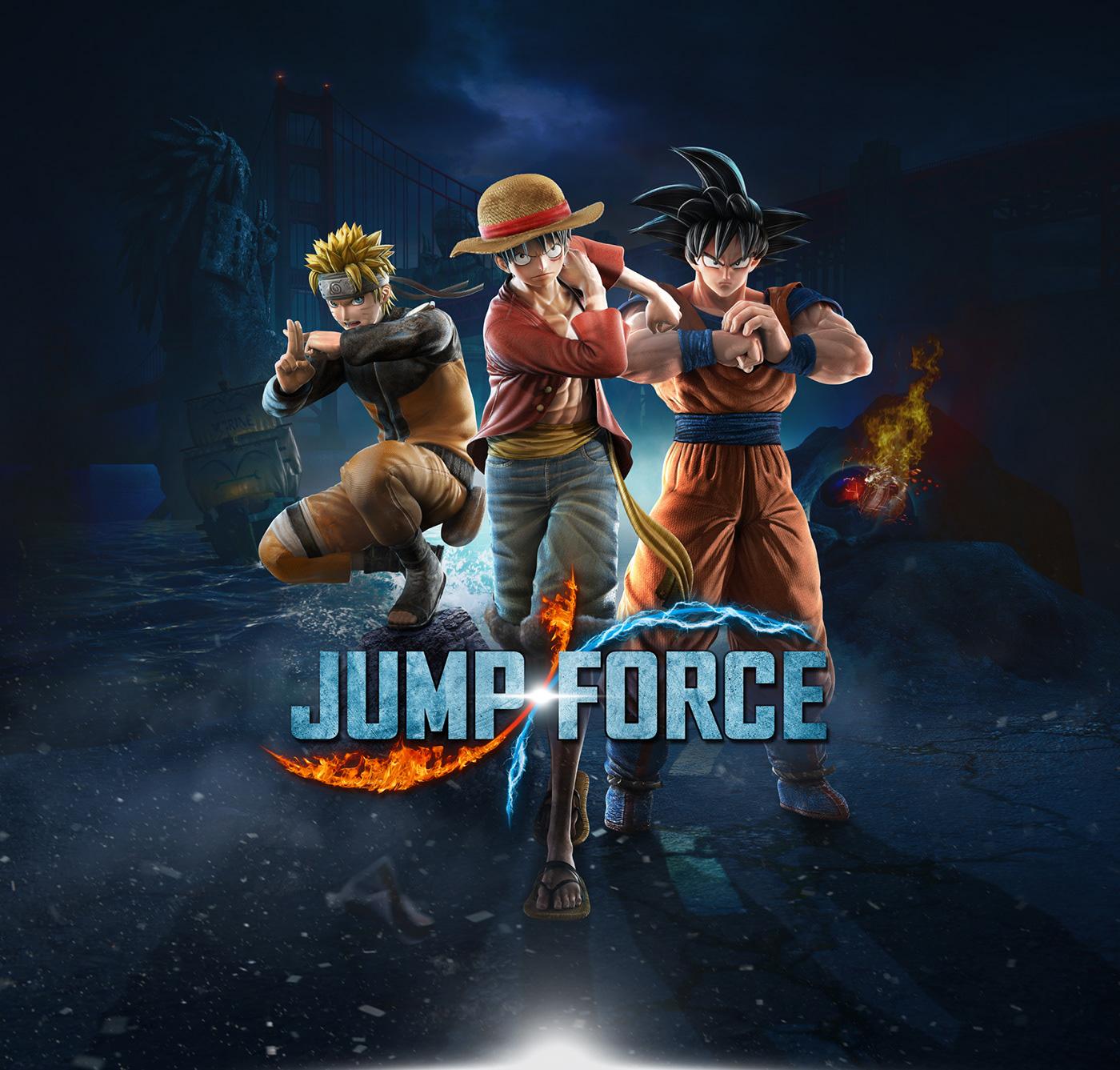 Jump Force Key Art on Behance
