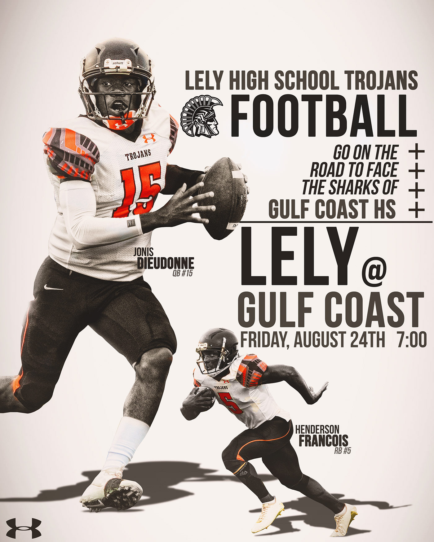 2017-2018 Lely High School Football on Behance