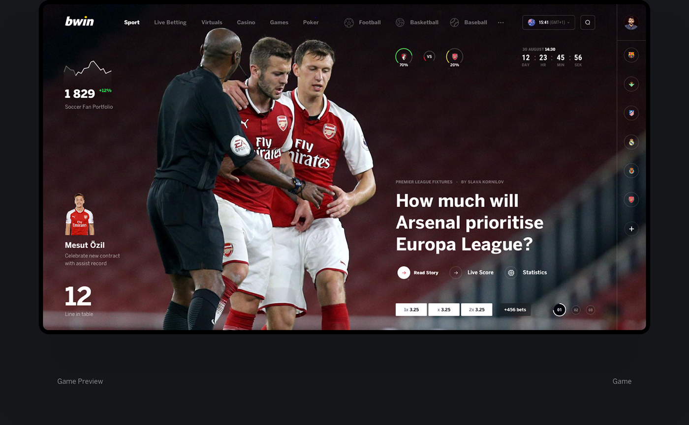 bwin bets betting sport football bookmakers Chat admin dashboard payment