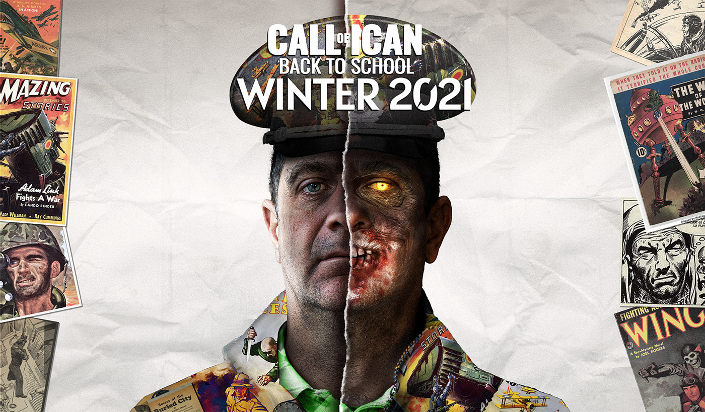 call of duty game design  iCan Photo Montage photoshop