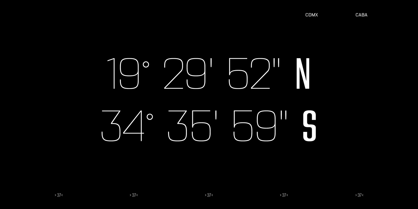 typography   font design Type Specimen Futura sudtipos type inspiration