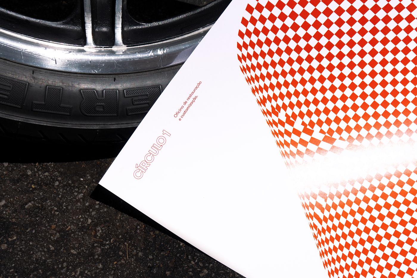 branding  card graphic identity logo poster print visual identity motion motorcycle