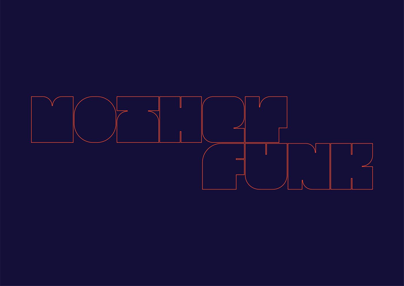typography   type juice Display modular big swag Typeface font Eyeondesign