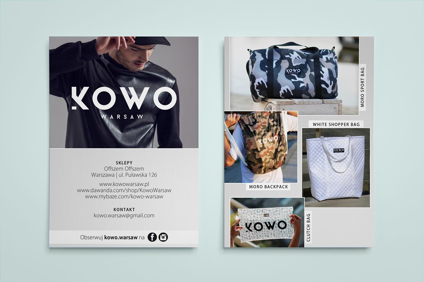 flyer fashion brand bags kowo warsaw