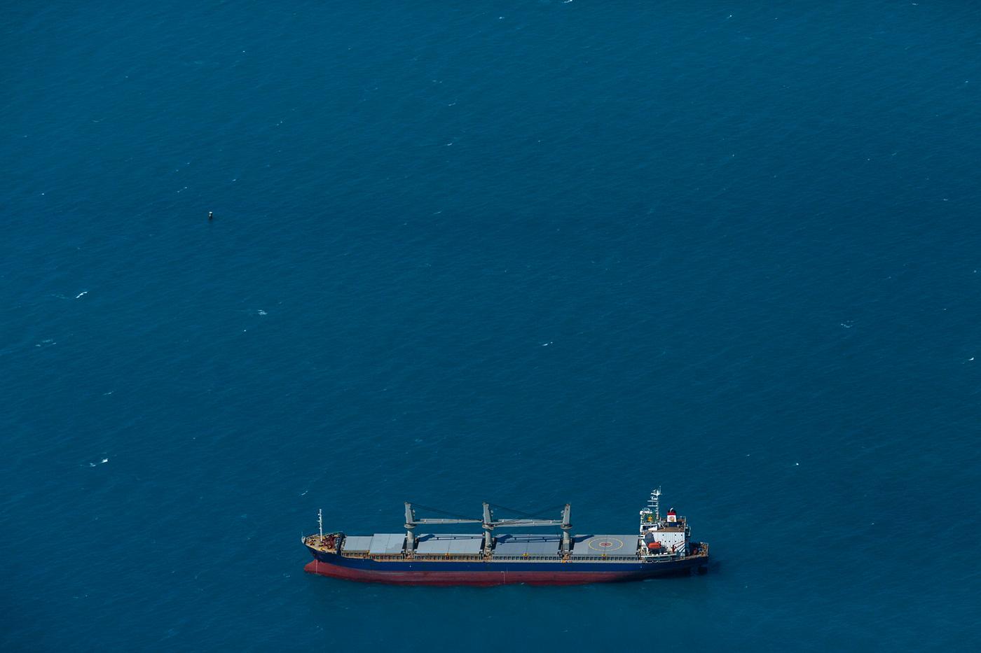 Image may contain: water, ship and boat