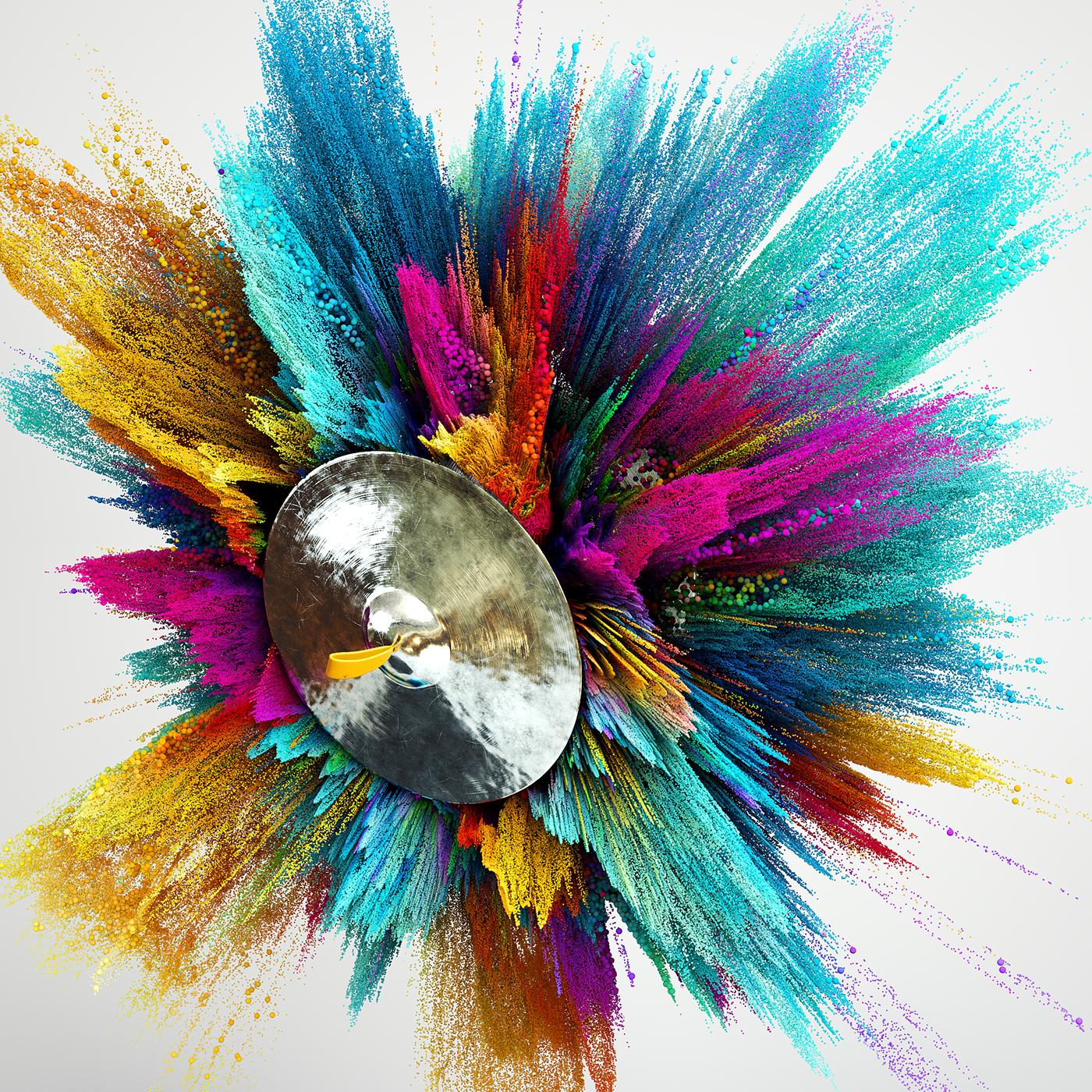 x-particles cinema4d octane colour
