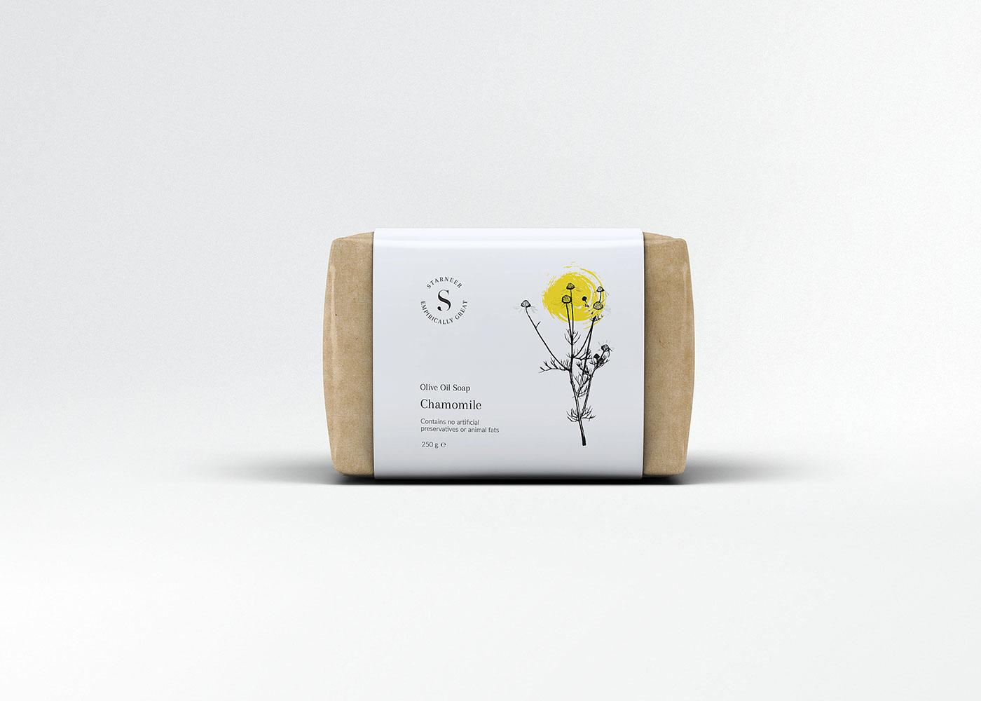 細緻的32套肥皂包裝欣賞