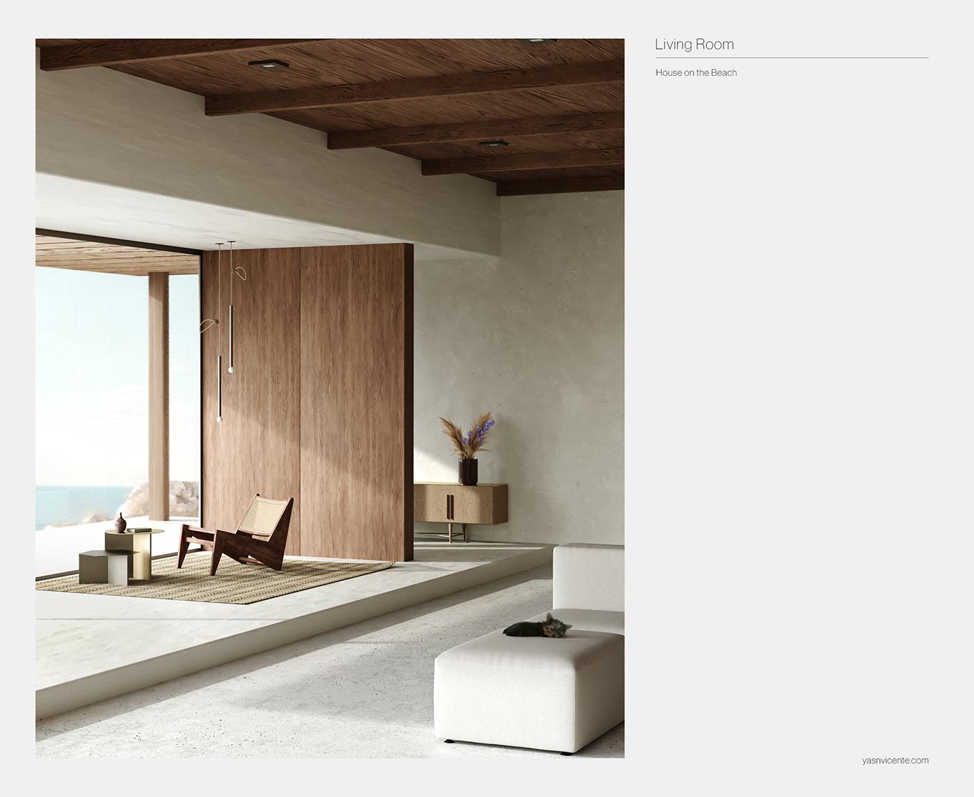 3D CGI design Dreamhouse house Interior Landscape Nature c4d interiordesign