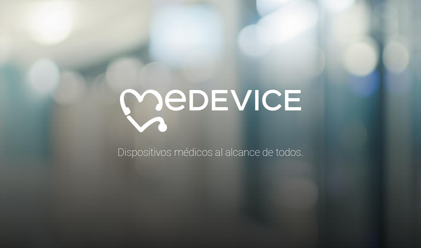 branding  medical devices Dispositivos Médicos marca logo
