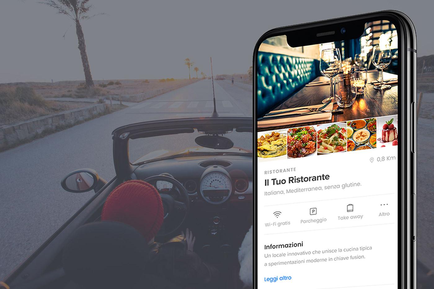 ios app mobile restaurants ui ux swift