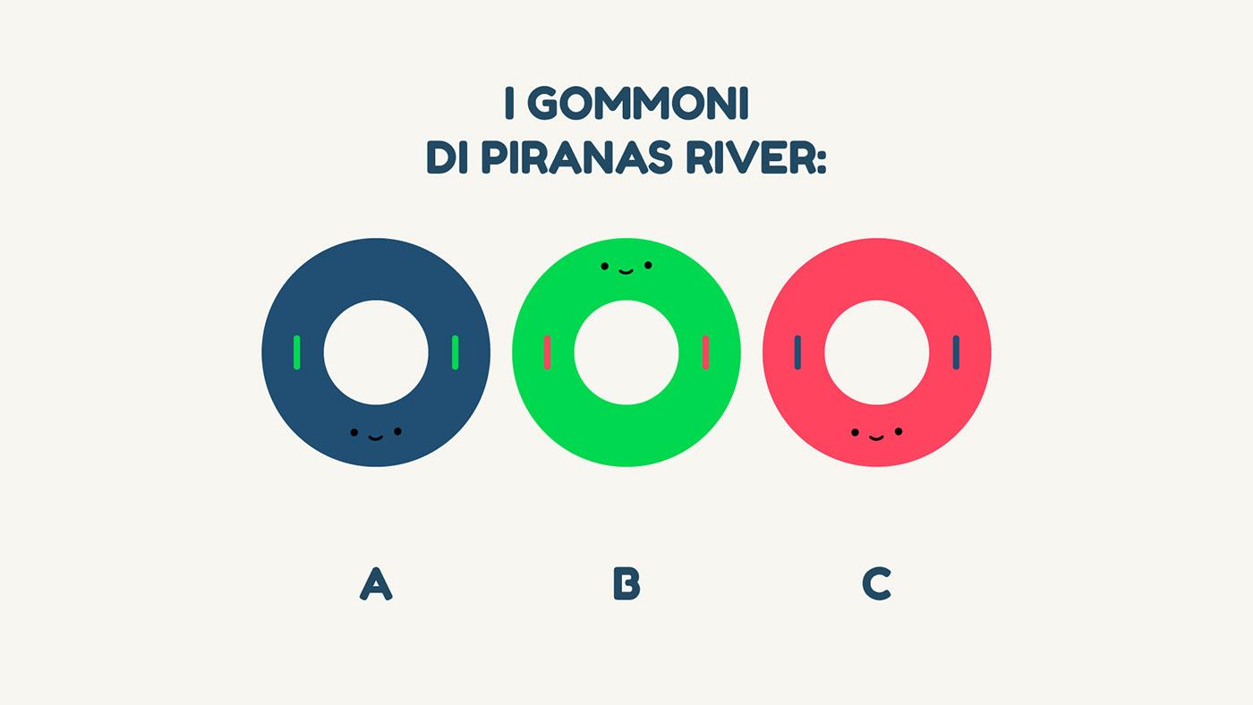 acquapark waterpark rollecoaster Park Italy italian minimaldesign cartoon