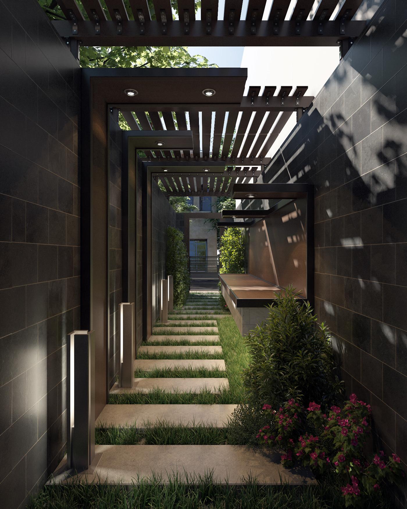 architecture design visualization 3dsmax photoshop vray creative Motaz mostafa