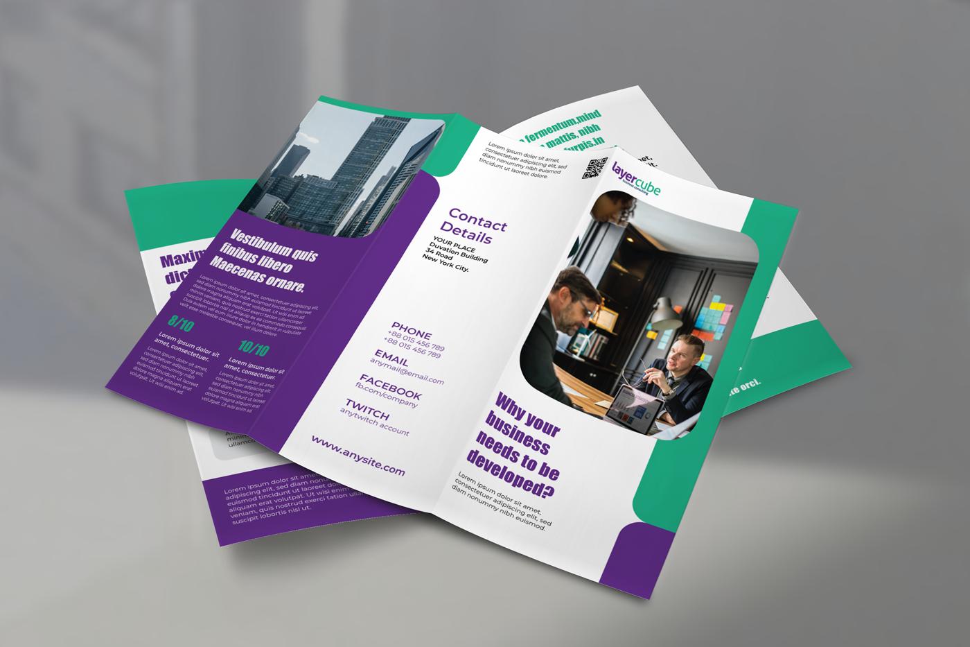 Phân biệt profile, brochure và catalogue