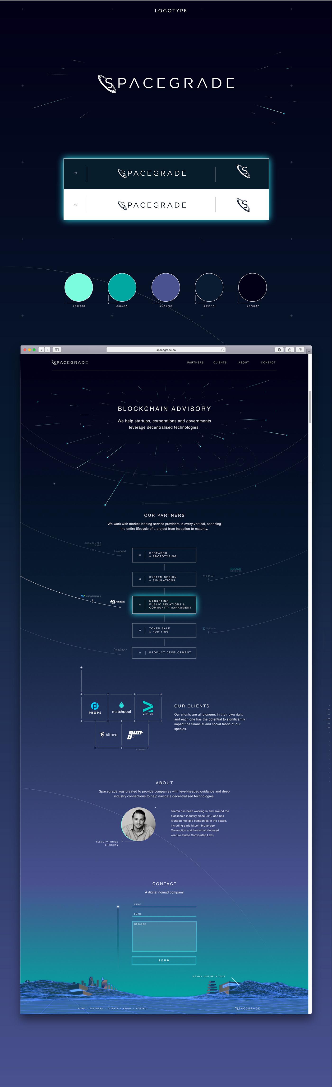 blockchain decentralized advisory bitcoin ethereum crypto Web branding  identity