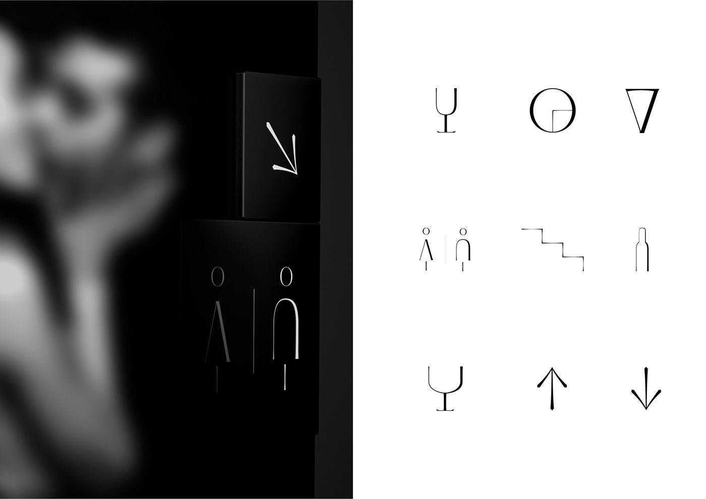 bar branding  concept editorial identity Lisbon Logo Design Portugal restaurant typography