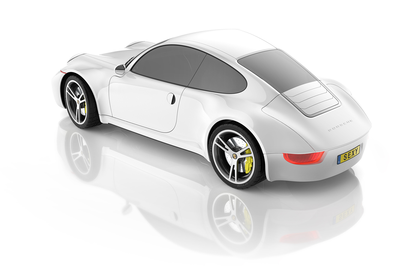 car Porsche productdesign industrialdesign curves automotive   creative Render mobility